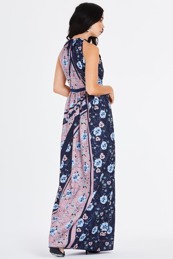 Thumbnail for your product : Little Mistress Arlie Ditsy Floral Maxi Dress