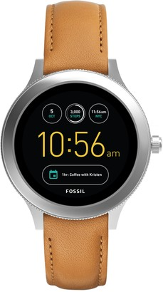 Fossil Gen 3 Smartwatch - Q Venture Luggage Leather / Women's Smartwatch with Bluetooth Technology Activity Tracker Smartphone Notifications