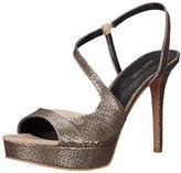 Nine West Women's Sincity Metallic Heeled Sandal