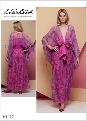 Vogue Women's Kimono Dress, 1627