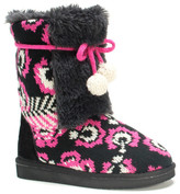 Muk Luks Jewel Faux Fur Boot (Toddler & Little Kid)