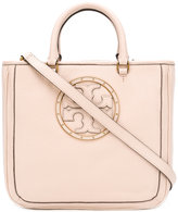 Tory Burch embellished logo tote - women - Leather - One Size