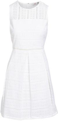 Vineyard Vines Women's Casual Dresses WHITE - White Cap Eyelet Fit & Flare Dress - Women