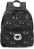 Kenzo Black Eye-print Shell Backpack