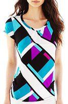 JCPenney Worthington® Short-Sleeve Scoopneck Top