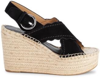 Marc Fisher Pino Sport Tamarin Suede Espadrille Sandals