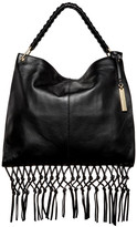 Vince Camuto Libby Leather Fringe Hobo