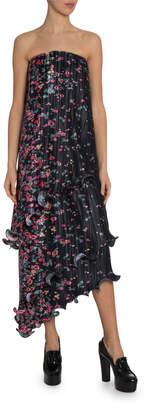 Givenchy Strapless Bustier Column Dress