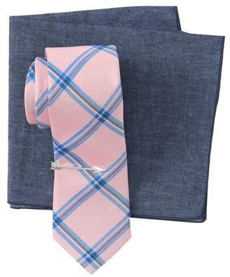 Bespoke Denim Essentials Pink 3-Piece Tie Box Set