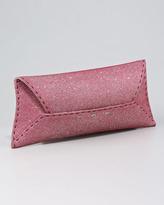 VBH Manila Stretch Sparkle Clutch Bag, Rose