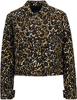 M Missoni Cropped printed cotton-twill jacket
