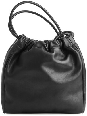Arket Soft Leather Bucket Bag