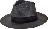 "San Diego Hat Company Woven 3"" Brim Paper Fedora PBF7308"" (Men's)"