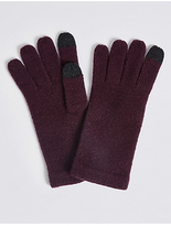 M&S Collection Knitted Touchscreen Gloves