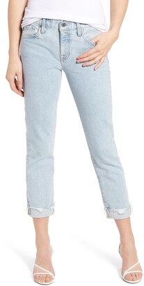 AG Jeans The Ex-Boyfriend Ankle Slim Jeans