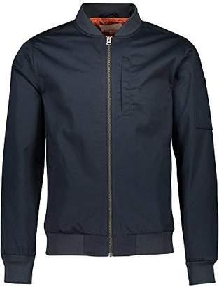 Shine Original Men's Bomber Jacket, Blue Cold Navy