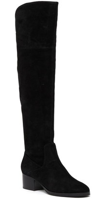 Via Spiga Orietta Suede Over-the-Knee Boot