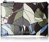 Armani Jeans Camo Printed Eco Leather Pouch Wallet