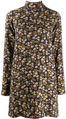 No.21 Floral Print Shift Dress