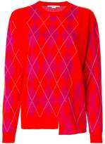 Stella McCartney argyle sweater