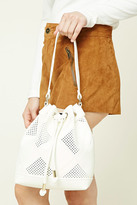 Forever 21 FOREVER 21+ Faux Leather Bucket Bag