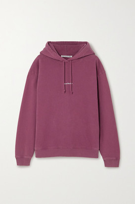 Acne Studios Oversized Printed Cotton-jersey Hoodie