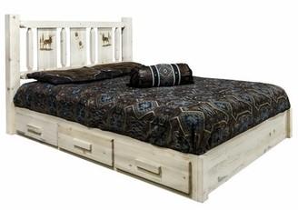 Loon Peak Tustin Storage Platform Bed Size: King