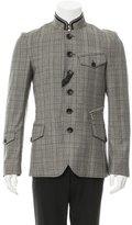 John Galliano Wool Windowpane Jacket