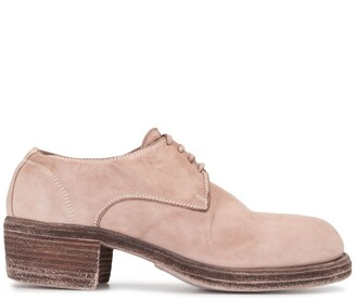 Guidi Suede Lace-Up Shoes