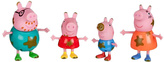 Peppa Pig Muddy Puddles Family Action Figure Set