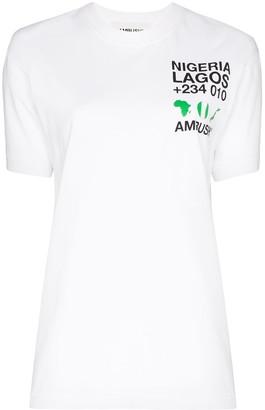 Ambush Nigeria logo T-shirt