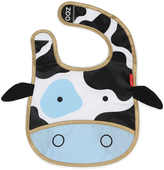 Skip Hop Black & White Cow Zoo Bib