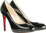 New Simple Patent Leather Pumps