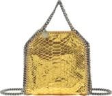 Stella McCartney Tiny Falabella Metallic Python Bag