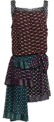 Zimmermann Polka-dot Georgette Mini Dress