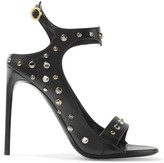 Tom Ford Crystal-embellished leather sandals