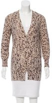 Tracy Reese Abstract V-Neck Cardigan
