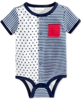 First Impressions Stars & Stripes Cotton Snap-Up Bodysuit, Baby Boys (0-24 months)