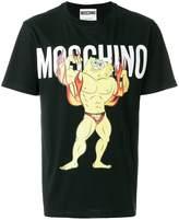 Moschino SpongeBob Fire T-shirt
