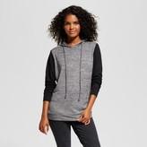 Alison Andrews Women's Colorblocked Pullover Hoodie - Alison Andrews® Black/Gray
