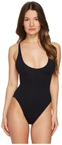 Proenza Schouler Lace Back Maillot Women's Swimsuits One Piece