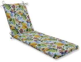 Indoor/Outdoor Chaise Lounge Cushion Bay Isle Home Fabric: Yellow