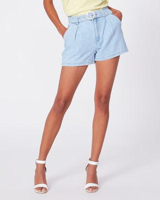 Paige Ruthie Pleated Short-Perris