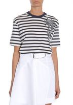 Carven Striped Cotton T-shirt