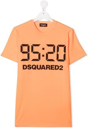 DSQUARED2 TEEN 95:20 crew-neck T-shirt