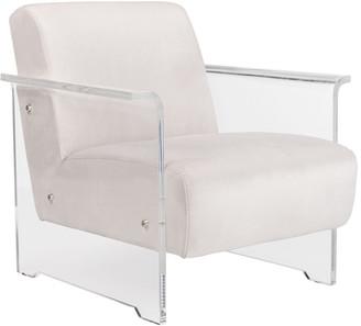 Safavieh Couture Safavieh Lefevre Acrylic Club Chair