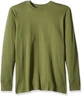 Duofold Men's Mid Weight Wicking Thermal Shirt, Service Green, M