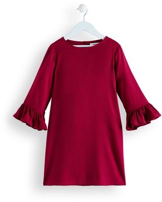Amazon Brand - RED WAGON Girl's Bell Sleeve Dress