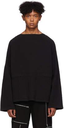 Craig Green Black Line Stitch Slash Sweatshirt