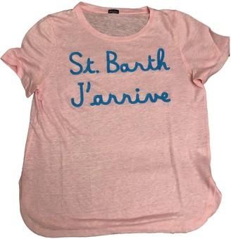 MC2 Saint Barth Pink Linen Top for Women